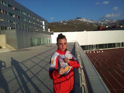 Paula Benés se prepara para asistir al mundial